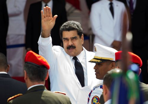 Maduro white suit