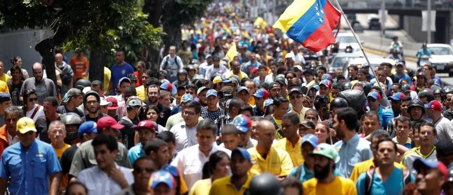 Venezuela referendum protests