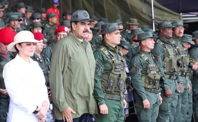 Venezuela military maduro
